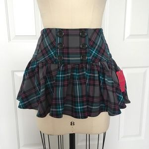 Candie's Skirts - Candie's Juniors Plaid Mini Skirt